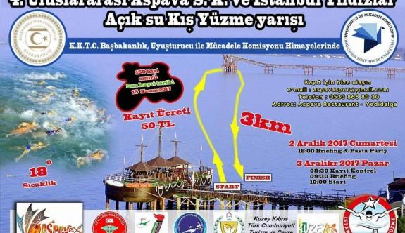 4'üncü Uluslararası Açık Deniz Yüzme Yarışması Pazar günü