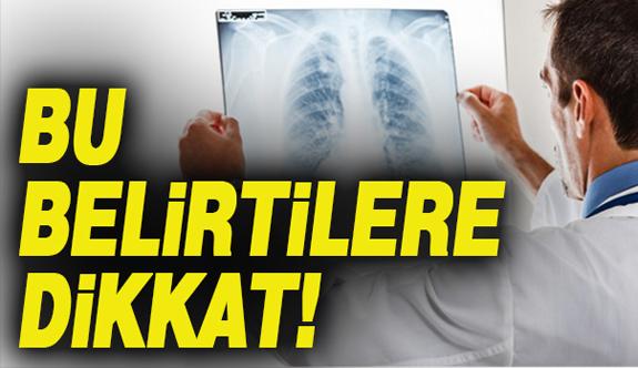 Akciğer kanserinin en sinsi 9 belirtisi