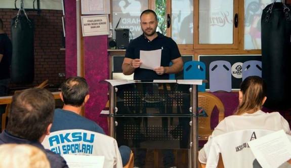 Aksu Su Sporları Kulübü'nde tek aday Aksu