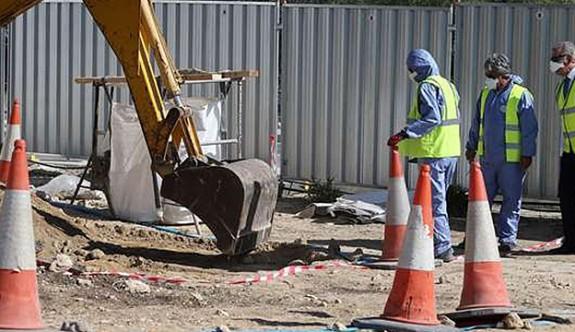 Athalasa'daki 'kayıp' gömü yeri dağıtılmış