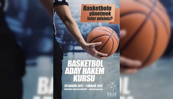 Basketbol aday hakem kursu düzenlenecek