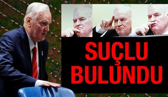 """""""Bosna kasabı"""" Ratko Mladiç'e müebbet hapis"""