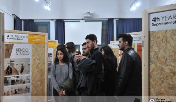 DAÜ Mimarlık Fakültesi sergisi Naci Talat Vakfı'nda açıldı