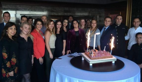 Denker'e sürpriz doğum günü partisi