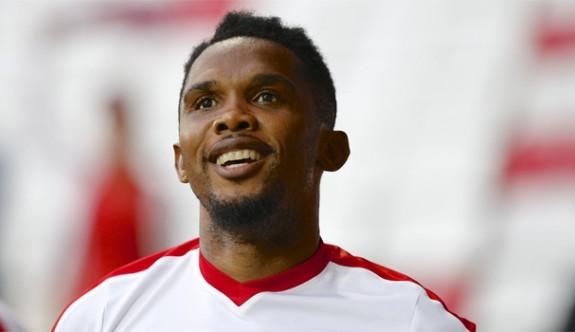 Eto'o attı, Antalyaspor 3 puanı kaptı