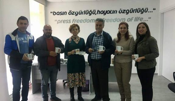 Gazeteciler Birliği'nden anlamlı destek
