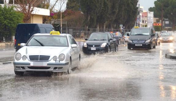 Girne'ye 84 kg yağmur düştü