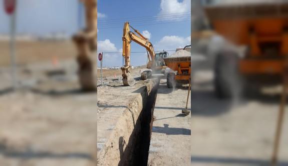 Hamitköy'de 4 sokağın daha kanalizasyon altyapısı tamamlandı