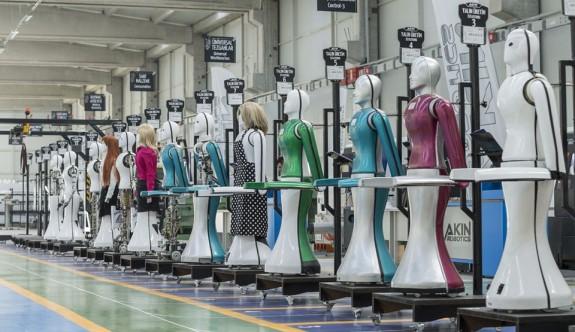 İlk insansı robot fabrikası Konya'da