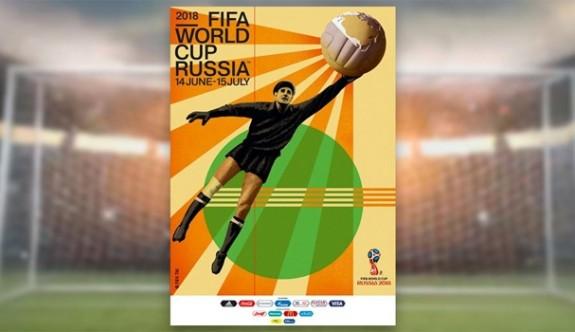 İşte 2018 FIFA Dünya Kupası afişi
