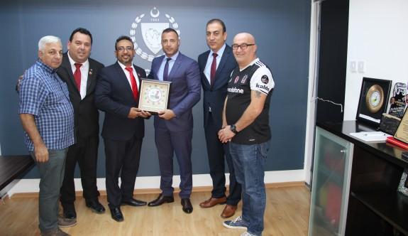 LTTFF yetkilileri, Cahitoğlu'nu ziyaret etti