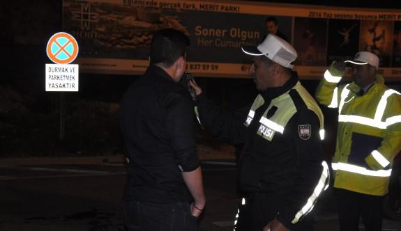 Mağusa ve Girne'de 190 sürücüye ceza kesildi