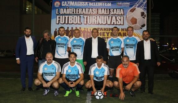 Mağusa'da dairelerarası futbol heyecanı başladı