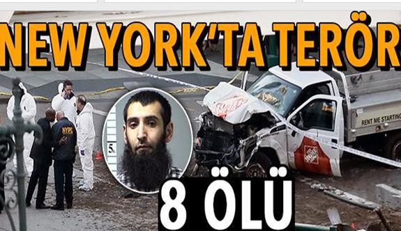 New York'ta (Manhattan) terör saldırısı: 8 ölü