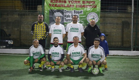 Omaç Başat Halı Saha Turnuvası'nda final gecesi