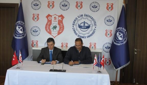 Ozanköy'e üniversite desteği
