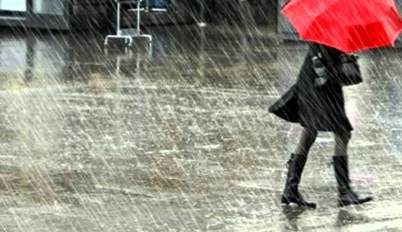 Pazar ve Pazartesi yağmur var