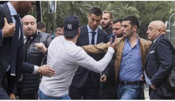 Ronaldo'ya Kıbrıs'ta şok
