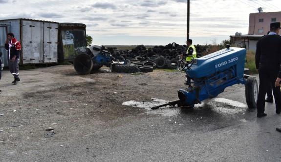 Salon araç traktörü ikiye böldü