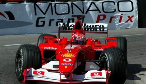 Schumacher'in efsane aracına rekor fiyat