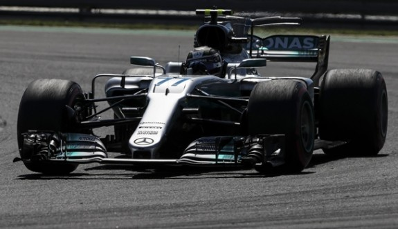 Sezonun son yarışını Bottas kazandı