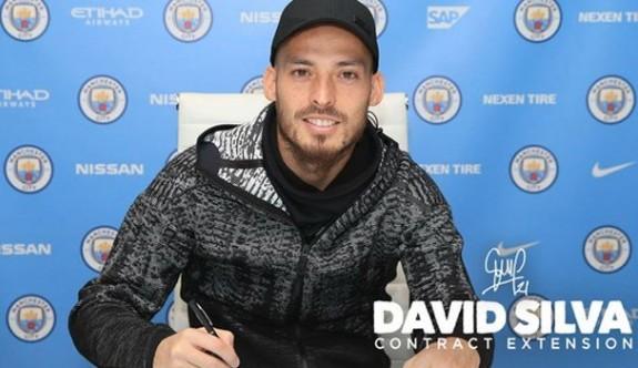 Silva, 2020'ye kadar Manchester City'de