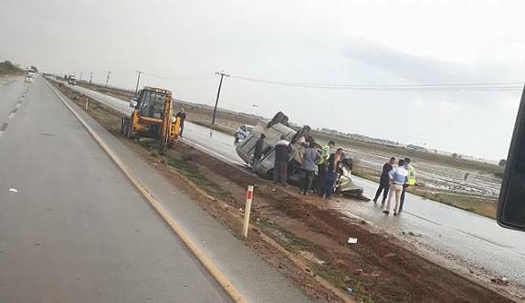 Son dakika: Cihangir yakınlarında minibüs devrildi