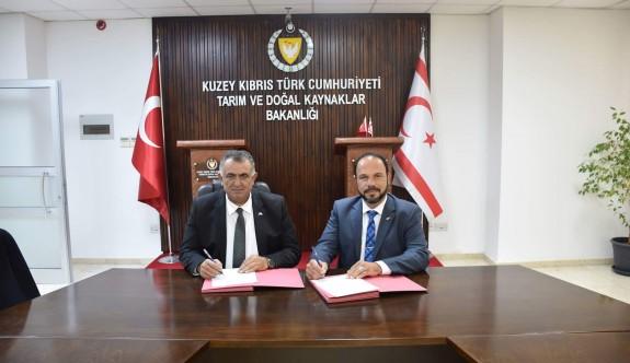 Tarım Bakanlığı ile İskele Belediyesi işbirliği protokolü imzaladı