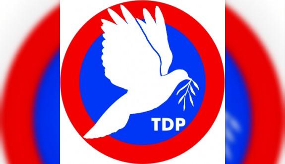 TDP pazar günü adaylarını ve sıralamalarını belirleyecek
