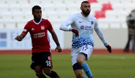 Trabzonspor Sivas'ta siftah yaptı