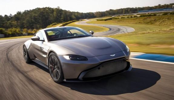 2019 model Aston Martin Vantage daha güçlü