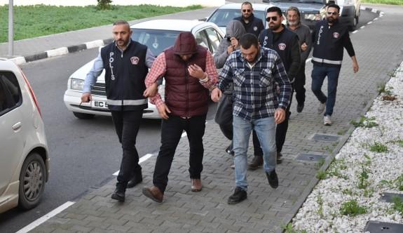 302 gram uyuşturucu, dört tutuklu