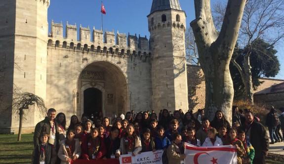 308 izci, Çanakkale ve İstanbul'u gezdi