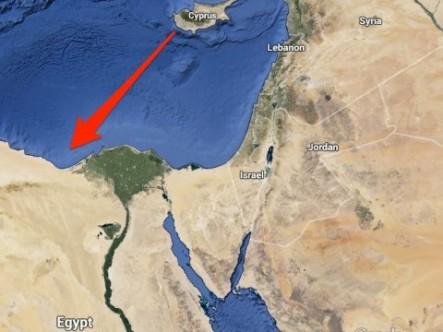 Afrodit, Mısır'daki terminale bağlanacak