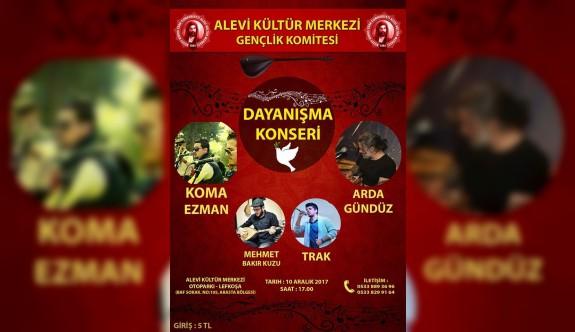 Alevi Kültür Merkezi Gençlik Komitesi Dayanışma Konseri