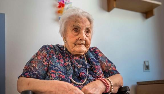 Avrupa'nın bilinen en yaşlı insanı öldü
