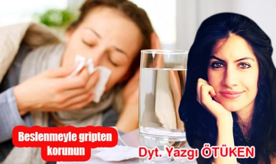 Beslenmeyle gripten korunun