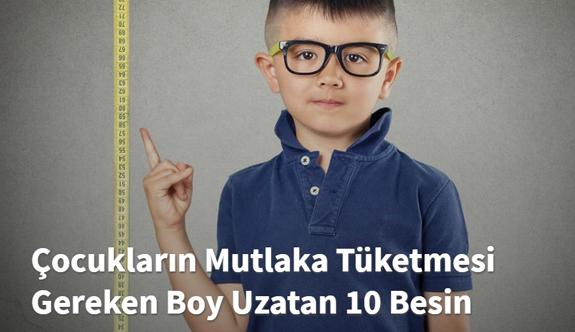 Boy Uzatan 10 Besin
