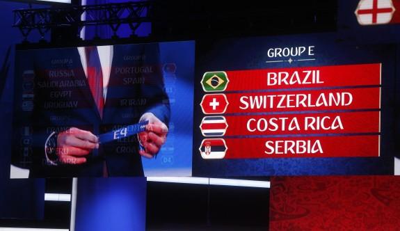 Dünya Kupası'nda gruplar bellirlendi