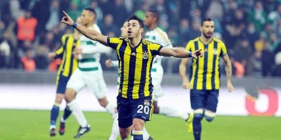 Fener, Bursa'yı tek golle geçti