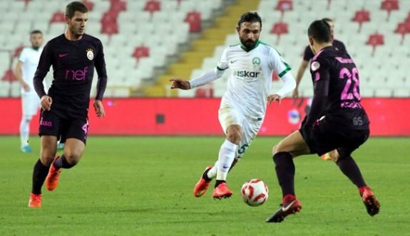 Galatasaray, Sivas'ta kayıp