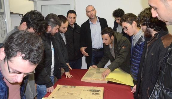 Gazeteci adayları, HALKIN SESİ'ndeydi
