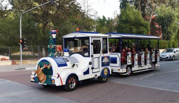 Gezi Treni'nin ilk konukları çocuklar oldu