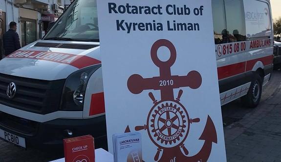 Girne Liman Rotaract Kulübü'nden AIDS farkındalık projesi