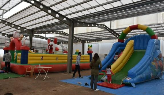 Girne Açık Pazar'da renkli yeni yıl etkinlikleri