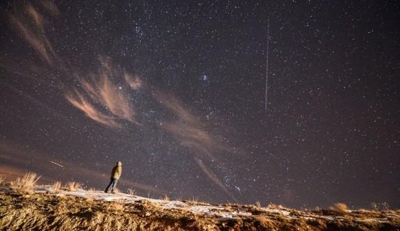 Gökyüzünde görsel şölen