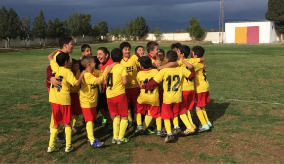 Güney Mesarya'da futbol heyecanı yaşandı