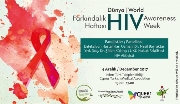 HIV farkındalık paneli düzenlenecek