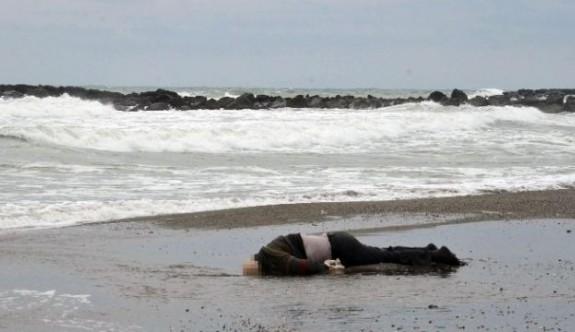 Kervansaray'da ceset kıyıya vurdu