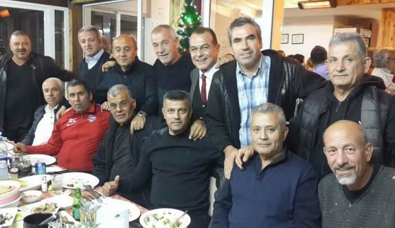 KITFAD yönetimi, yeni yılı kutladı